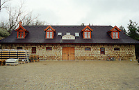 The Thummerer winery (pince) in Eger. Thummerer is one of the leading producers in the region. Thummerer is one of the leading growers and wine makers in Eger.