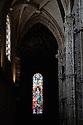 Lisbon, Portugal. 16.04.2016. Church of Santa Maria, interior, Mosteiro dos Jerónimos (Jeronimos Monastery), Belem, Lisbon. Photograph © Jane Hobson.
