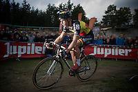 Sven Nys (BEL/Crelan-AAdrinks)<br /> <br /> GP Zonhoven 2014
