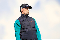 Lee Slattery (ENG) on the 5th tee during Round 2 of the Betfred British Masters 2019 at Hillside Golf Club, Southport, Lancashire, England. 10/05/19<br /> <br /> Picture: Thos Caffrey / Golffile<br /> <br /> All photos usage must carry mandatory copyright credit (&copy; Golffile | Thos Caffrey)