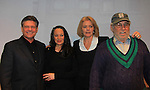"Young and Restless Victoria Mallory ""Leslie Brooks"" passes away on August 30, 2014 as she stars in ""Good Girls Only - the Rehearsal Club Musical"" and poses with husband Mark Lambert and Guiding Light Denise Pence and husband Steve Boockvor (producers on this show) on March 13, 2013 at the Professional Children's School, New York City, New York. (Photo by Sue Coflin/Max Photos)  917-647-8403"