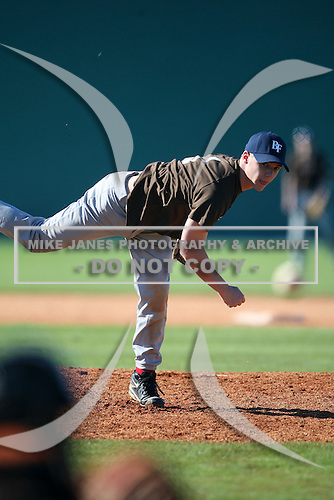 December 29, 2009:  Jody Martin (01) of the Baseball Factory 49ers team during the Pirate City Baseball Camp & Tournament at Pirate City in Bradenton, Florida.  (Copyright Mike Janes Photography)