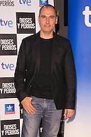 """The director David Marques attends the """"DIOSES Y PERROS """" Movie presentation at Kinepolis Cinema in Madrid, Spain. October 6, 2014. (ALTERPHOTOS/Carlos Dafonte) /nortephoto.com"""