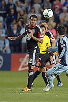 Raphael Augusto (12) midfield D.C Utd in action..Sporting Kansas City defeated D.C Utd 1-0 at Sporting Park, Kansas City, Kansas.