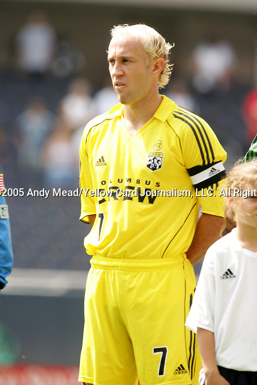 16 July 2005: Simon Elliott. The Chicago Fire and Columbus Crew tied 1-1 at Soldier Field in Chicago, Illinois in a regular season Major League Soccer game.