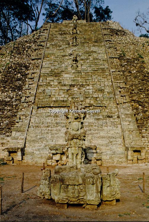 Maya, Copan, Hieroglyphic Staircase, Ruta Maya, Glyph, Scenic, mm5771