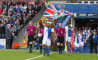 Blackburn Rovers come out at the start of todays match<br /> <br /> Photographer Rachel Holborn/CameraSport<br /> <br /> The EFL Sky Bet League One - Blackburn Rovers v Doncaster Rovers - Saturday August 12th 2017 - Ewood Park - Blackburn<br /> <br /> World Copyright &copy; 2017 CameraSport. All rights reserved. 43 Linden Ave. Countesthorpe. Leicester. England. LE8 5PG - Tel: +44 (0) 116 277 4147 - admin@camerasport.com - www.camerasport.com