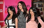 "LOS ANGELES, CA. - December 02: Kim Kardashian, Khloe Kardashian and Kourtney Kardashian attend the ""Kardashian Konfidential"" Book Signing at Borders Book store on December 2, 2010 in  Century City, California."