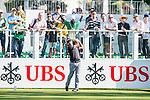 Gaganjeet Bhullar of India tees off the first hole during the 58th UBS Hong Kong Golf Open as part of the European Tour on 10 December 2016, at the Hong Kong Golf Club, Fanling, Hong Kong, China. Photo by Marcio Rodrigo Machado / Power Sport Images