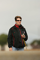 14 April 2006: Assistant coach Carrie Davis during the 2006 Stanford Invitational Crew Classic at Redwood Shores, CA.