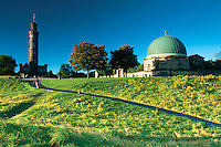 Nelson Monument and the City Observatory, Calton Hill, Edinburgh