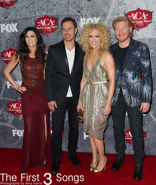 Little Big Town arrives at the American Country Awards 2012 at the Mandalay Bay Resort & Casion in Las Vegas, Nevada