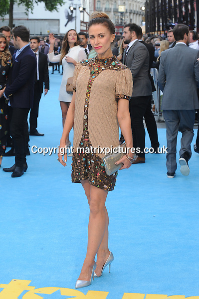 NON EXCLUSIVE PICTURE: PAUL TREADWAY / MATRIXPICTURES.CO.UK<br /> PLEASE CREDIT ALL USES<br /> <br /> WORLD RIGHTS<br /> <br /> English actress Katherine Kelly attending the European Premiere of Entourage at Vue West End, in London.<br /> <br /> JUNE 9th 2015<br /> <br /> REF: PTY 151850