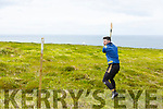 Martin Stackpool of Lixnaw competing in the Kerry Puc Fada in Ballyheigue on Monday