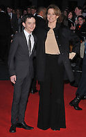 Lewis MacDougall and Sigourney Weaver at the 60th BFI London Film Festival &quot;A Monster Calls&quot; May Fair Hotel gala screening, Odeon Leicester Square cinema, Leicester Square, London, England, UK, on Thursday 06 October 2016.<br /> CAP/CAN<br /> &copy;CAN/Capital Pictures /MediaPunch ***NORTH AND SOUTH AMERICAS ONLY***