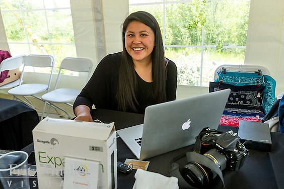 Adaka Cultural Festival 2016, Whitehorse, Yukon, Canada, Yukon First Nation Culture and Tourism Association, Kwanlin Dun Cultural Centre, Shayla Snowshoe, photographer