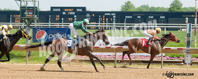 Holy Mo winning at Delaware Park on 5/22/13