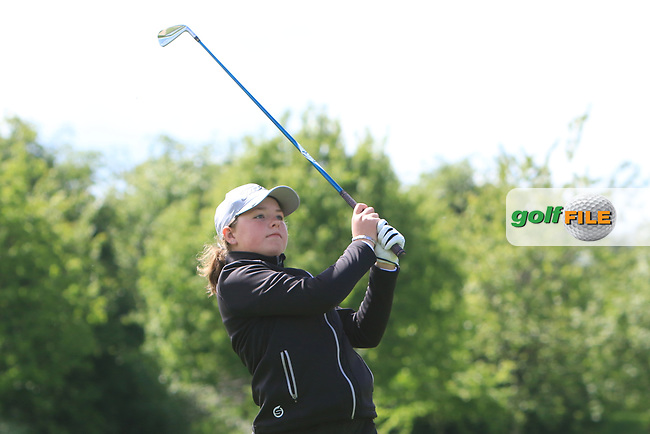 Katie Poots (Knock) on the 15th tee during Round 4 of the Ulster Stroke Play Championships at Galgorm Castle Golf Club, Ballymena, Northern Ireland. 28/05/19<br /> <br /> Picture: Thos Caffrey / Golffile<br /> <br /> All photos usage must carry mandatory copyright credit (© Golffile | Thos Caffrey)