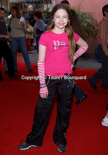 """Daveigh Chase arriving at the """" Dr. Seuss """"The Cat In The Hat Premiere """" _ at the Universal Amphitheatre in Los Angeles. November 8, 2003."""