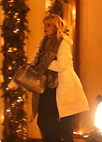 Nastassja Kinski enjoys some Christmas vacation in Saint-Moritz - Switzerland