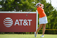 Brittany Lang (USA) watches her tee shot on 12 during the round 2 of the Volunteers of America Texas Classic, the Old American Golf Club, The Colony, Texas, USA. 10/4/2019.<br /> Picture: Golffile | Ken Murray<br /> <br /> <br /> All photo usage must carry mandatory copyright credit (© Golffile | Ken Murray)