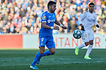 Angel Rodriguez of Getafe FC during La Liga match between Getafe CF and Real Madrid at Coliseum Alfonso Perez in Getafe, Spain. January 04, 2020. (ALTERPHOTOS/A. Perez Meca)