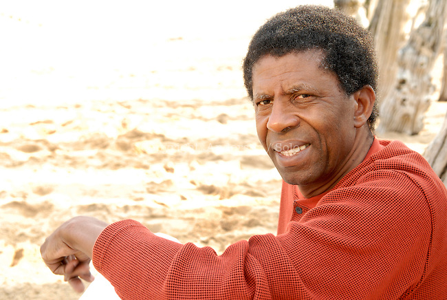 Dany Laferriere at book fair in Saint Malo, in 2008.