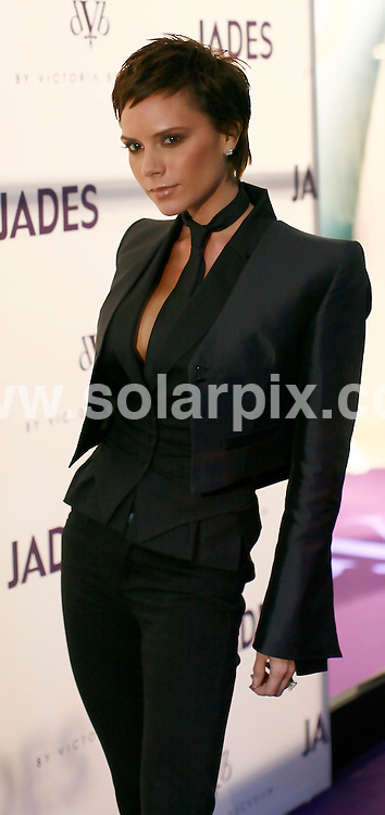 **ALL ROUND PICTURES FROM SOLARPIX.COM**.**SYNDICATION RIGHTS FOR UK AND SPAIN ONLY**.Victoria Beckham presenting her new dVb Jeans collection in Dusseldorf, Germany. 15th October 2008..JOB REF: 7605 CPR (Kaiser)       DATE: 15_10_2008.**MUST CREDIT SOLARPIX.COM OR DOUBLE FEE WILL BE CHARGED* *UNDER NO CIRCUMSTANCES IS THIS IMAGE TO BE REPRODUCED FOR ANY ONLINE EDITION WITHOUT PRIOR PERMISSION*