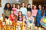 Sadhbh Horgan from Fairway Heights enjoying an early celebration for her 13th birthday in Bella Bia on Saturday.<br /> L to r:   Breda Seymore, Sadbh Horgan and John Seymore.<br /> Back l to r: Bitania Yosef, Aoibhín O'Connor MacCarthy, Sophie Hassett, Sarah Jane Hoffman, Milly O'Brien, Lauren Doody and Kelly Fitzgerald.