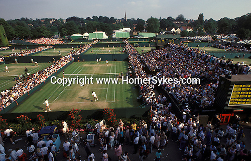 Tennis at Wimbledon. The English Season published by Pavilon Books 1987
