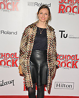Sophie Ellis Bextor at the &quot;School of Rock: The Musical&quot; VIP opening night, New London Theatre, Drury Lanes, London, England, UK, on Monday 14 November 2016. <br /> CAP/CAN<br /> &copy;CAN/Capital Pictures /MediaPunch ***NORTH AND SOUTH AMERICAS ONLY***