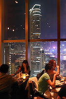 Restaurant Wooloomooloo,  Nathan Road in Kowloon, Hongkong, China