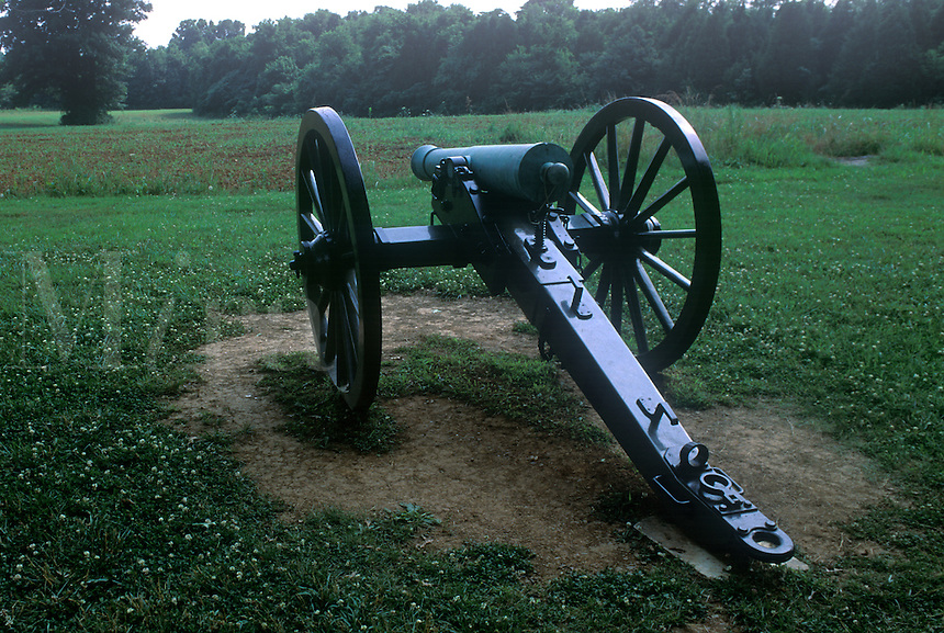 Battle site at Stone River, American Civil War , 1863