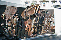 African American History Monument at State Capitol Building in Columbia South Carolina