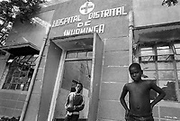 - Mozambique 1993, country hospital in Inhaminga village, province of Sofala<br />