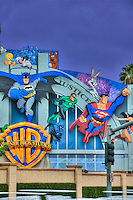 Warner Brothers Studios Comic Book heroic characters Burbank CA ,Super Hero's Warner Bros. Burbank, CA