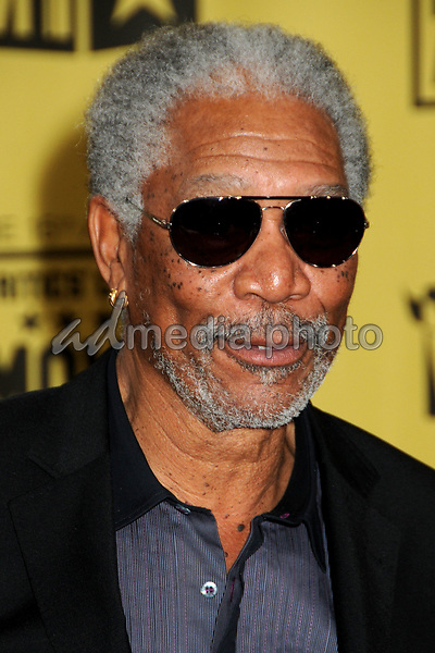 15 January 2010 - Hollywood, California - Morgan Freeman. 15th Annual Critics' Choice Movie Awards - Arrivals held at the Hollywood Palladium. Photo Credit: Byron Purvis/AdMedia