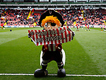 Captain Blade during the English League One match at Bramall Lane Stadium, Sheffield. Picture date: April 17th 2017. Pic credit should read: Simon Bellis/Sportimage