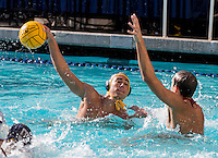 BERKELEY, CA., NOVEMBER 12, 2016—California men's water polo vs the Stanford Cardinal at Spieker aquatics Complex . Cal won 11-10.