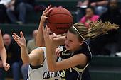 Waterford Kettering vs Rochester Hills Stoney Creek, Girls Varsity Basketball, 3/8/12