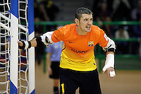 FC Barcelona Alusport's Cristian Dominguez during Spanish National Futsal League match.November 24,2012. (ALTERPHOTOS/Acero) /NortePhoto
