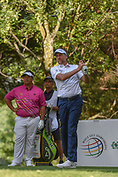 Ian Poulter (GBR) watches his tee shot on 16 during round 3 of the World Golf Championships, Mexico, Club De Golf Chapultepec, Mexico City, Mexico. 2/23/2019.<br /> Picture: Golffile | Ken Murray<br /> <br /> <br /> All photo usage must carry mandatory copyright credit (© Golffile | Ken Murray)