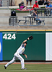 Reno Aces' Evan Frey makes a play against the Sacramento River Cats in Reno, Nev., on Sunday, April 14, 2013. The River Cats won 22-6..Photo by Cathleen Allison