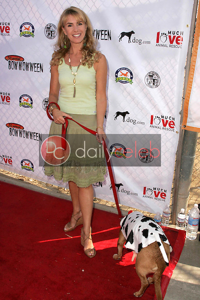 Julia Verdin and her dog Spanner<br />at The 5th Annual BowWowWeen Benefit Presented by Dog.com. Barrington Dog Park, Los Angeles, CA. 10-29-06<br />Dave Edwards/DailyCeleb.com 818-249-4998