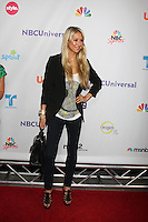LOS ANGELES - AUG 1:  Anna Kournikova arriving at the NBC TCA Summer 2011 Party at SLS Hotel on August 1, 2011 in Los Angeles, CA