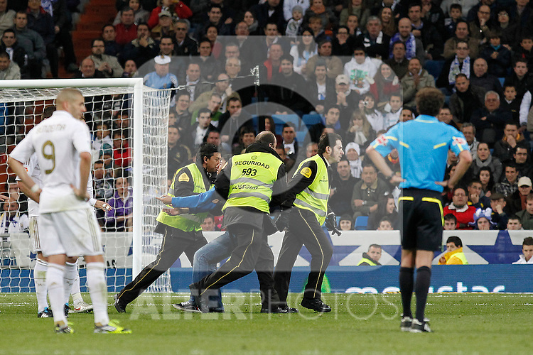 Real Madrid's and Malaga's during la Liga match on march 18th 2012...Photo: Alex Cid-Fuentes / ALFAQUI