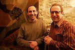 """20070309 - France - Paris<br /> CHRISTOPHE TUPINIER ET THIERRY GAUDILLERE, CREATEURS DU MAGAZINE """"BOURGOGNES"""" SUR LES VINS DE BOURGOGNE.<br /> Ref: CHRISTOPHE_TUPINIER_010 - © Philippe Noisette"""