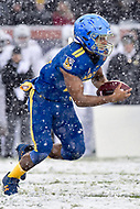 PHILADELPHIA, PA - DEC 9, 2017: Navy Midshipmen Quarterback Malcolm Perry (10) runs the football during game between Army and Navy at Lincoln Financial Field Philadelphia, PA. Army defeated Navy 14-13 to win the Commander in Chief Cup. (Photo by Phil Peters/Media Images International)