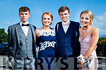 Nathan Dineen, Maggie Lynch, Gavin Dooley and Erin Stack, enjoying Causeway Comprehensive School Debs, at Ballyroe Heights Hotel, Tralee, on Wednesday, August 9th last,