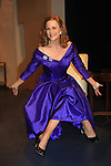 """Colleen Zenk - As The World Turns - stars in Looped - about Tallulah Bankhead - original premiere - at Stageworks/Hudson Theater Outside The Box on July 14, 2013 running until July 28 - also stars Michael Rhodes and Steve Austin Young. """"All he needed was one line . . . All Tallulah needed was eight hours . . .""""  (Photo by Sue Coflin/Max Photos)"""